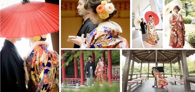 大阪の和装フォトウェディングのご案内です